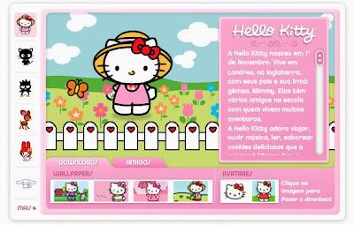 Conheça a Hello Kitty e seus amigos!