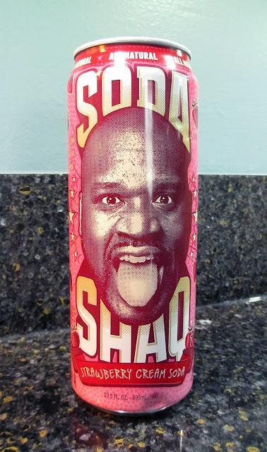 Soda Shaq Strawberry Cream Soda
