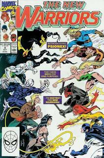 Nuevos Guerreros Comics