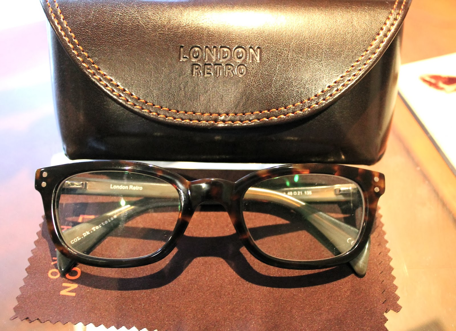 London Retro Soho Glasses
