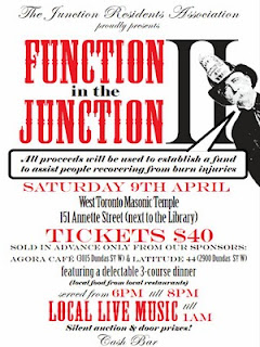 Function in the Junction 2011, JRA's Fundraiser