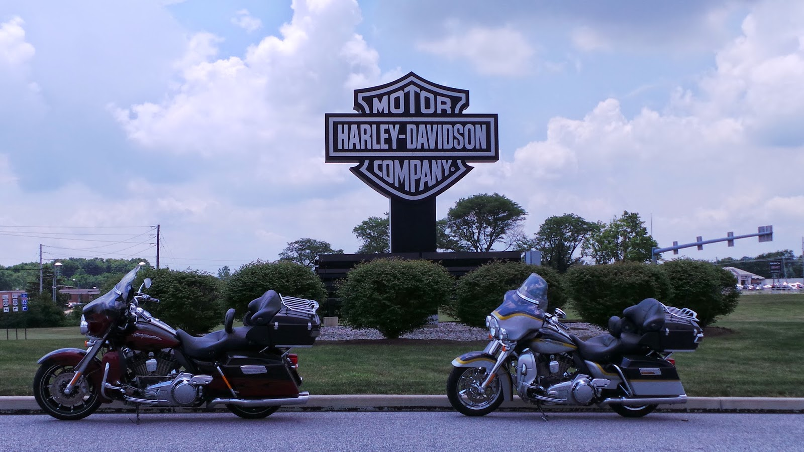 The Blighty-Boys: Harley Davidson Factory Tour - York Pennsylvania