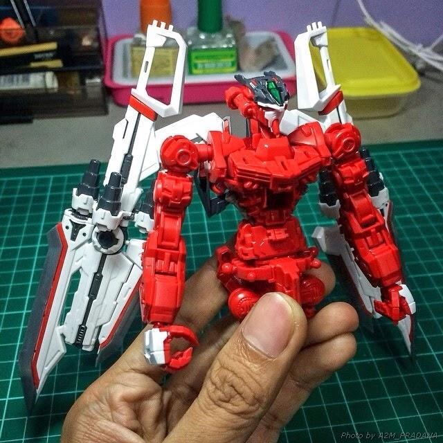 gundam century model kits astray red