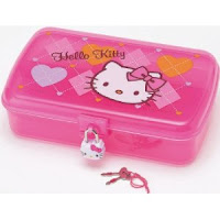 Hello Kitty Pencils Pencil Box And Sharpener Are All Great For Back To School The Has A Lock Keys Store Your Childs