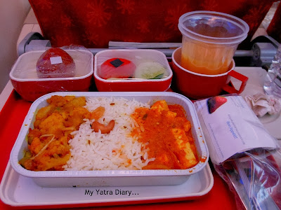 Air India - Flight Food