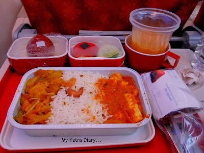Air India - Flight Food
