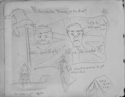 Nursing Sister WW1 Photo Album: 23V Sketch
