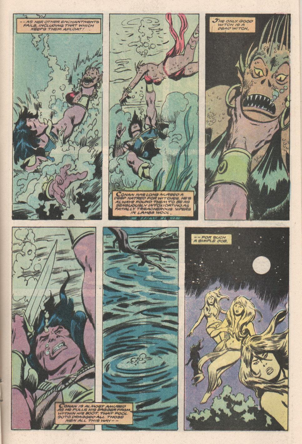 Conan the Barbarian (1970) Issue #180 #192 - English 16