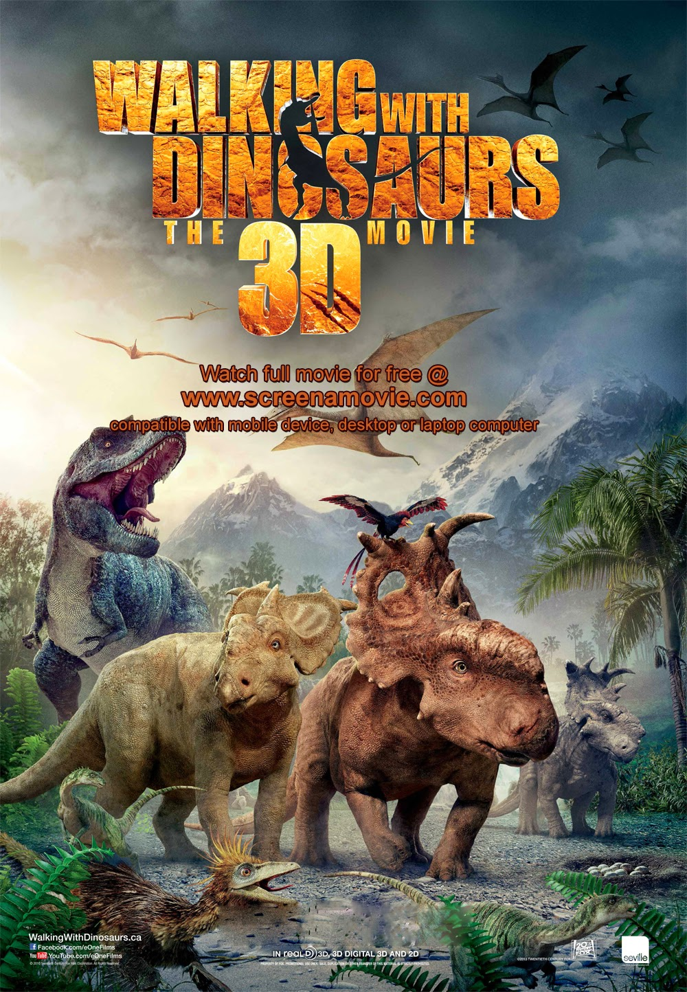 Walking with Dinosaurs 3D_@screenamovie