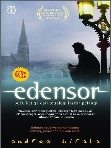 Resensi Edensor karya Andrea Hirata | Sekadar Info