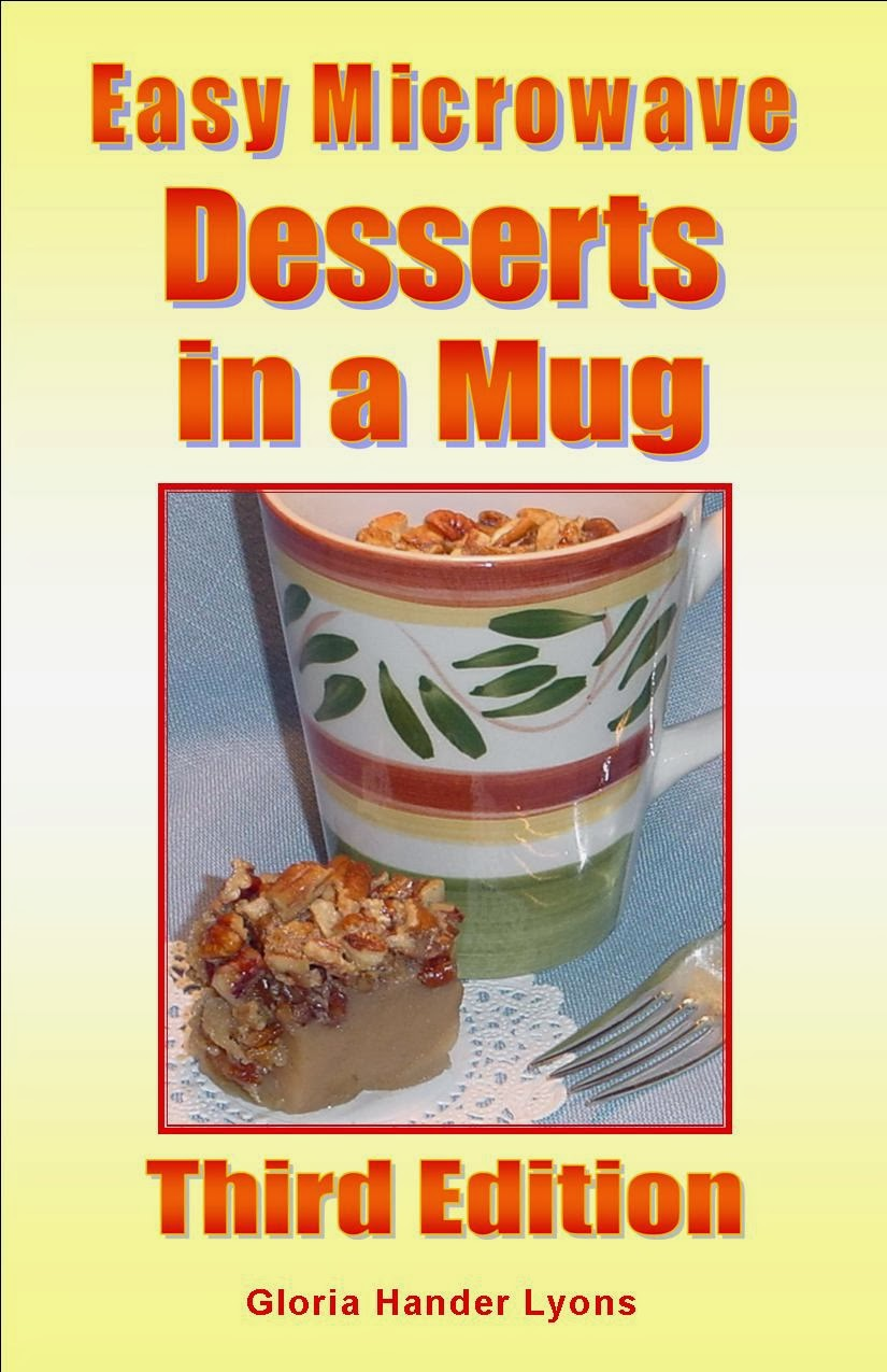 My most popular cookbook: Easy Microwave Desserts in a Mug