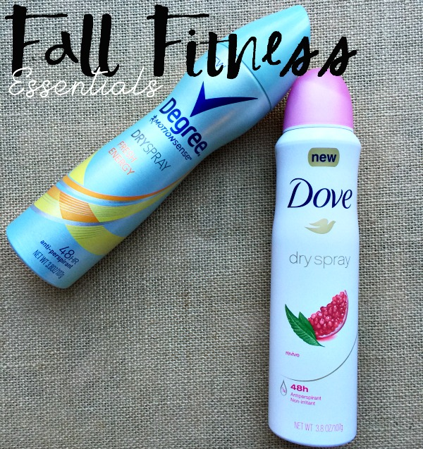 Fall Fitness Essentials with Dove!
