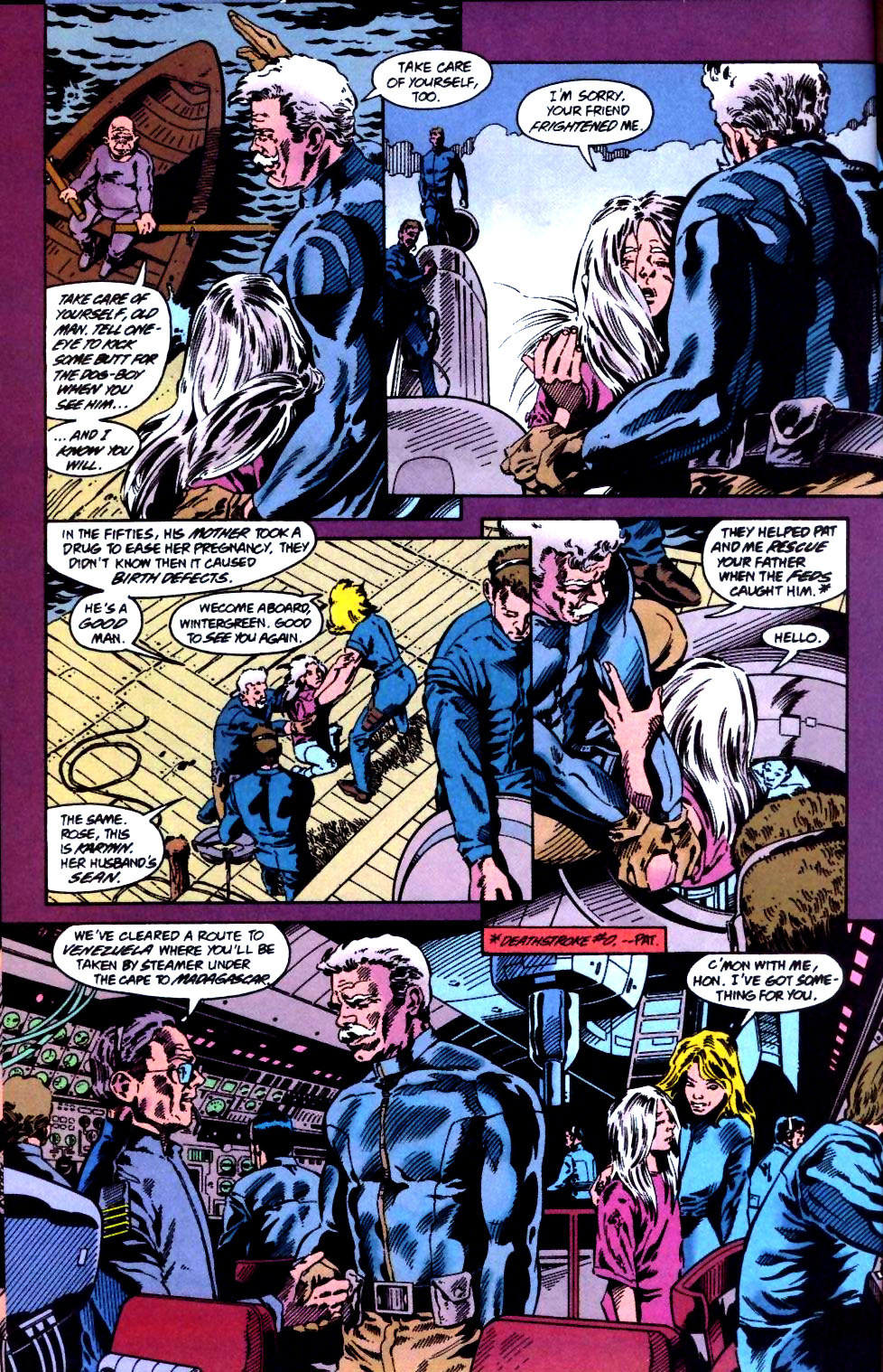 Deathstroke (1991) Issue #47 #52 - English 13