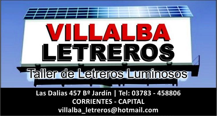 Villalba Letreros