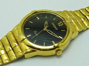 Compre Aqui Relógios Masculinos  Banhados A Ouro Quartz Frete Grátis