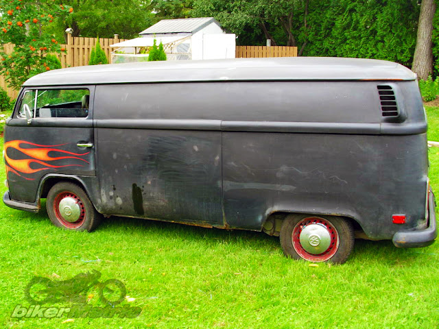 1972 volkswagen van rat rod interior