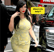 YIKES!!! Kim Kardashian's 'PREGNANCY' Figure Is Very ODD .