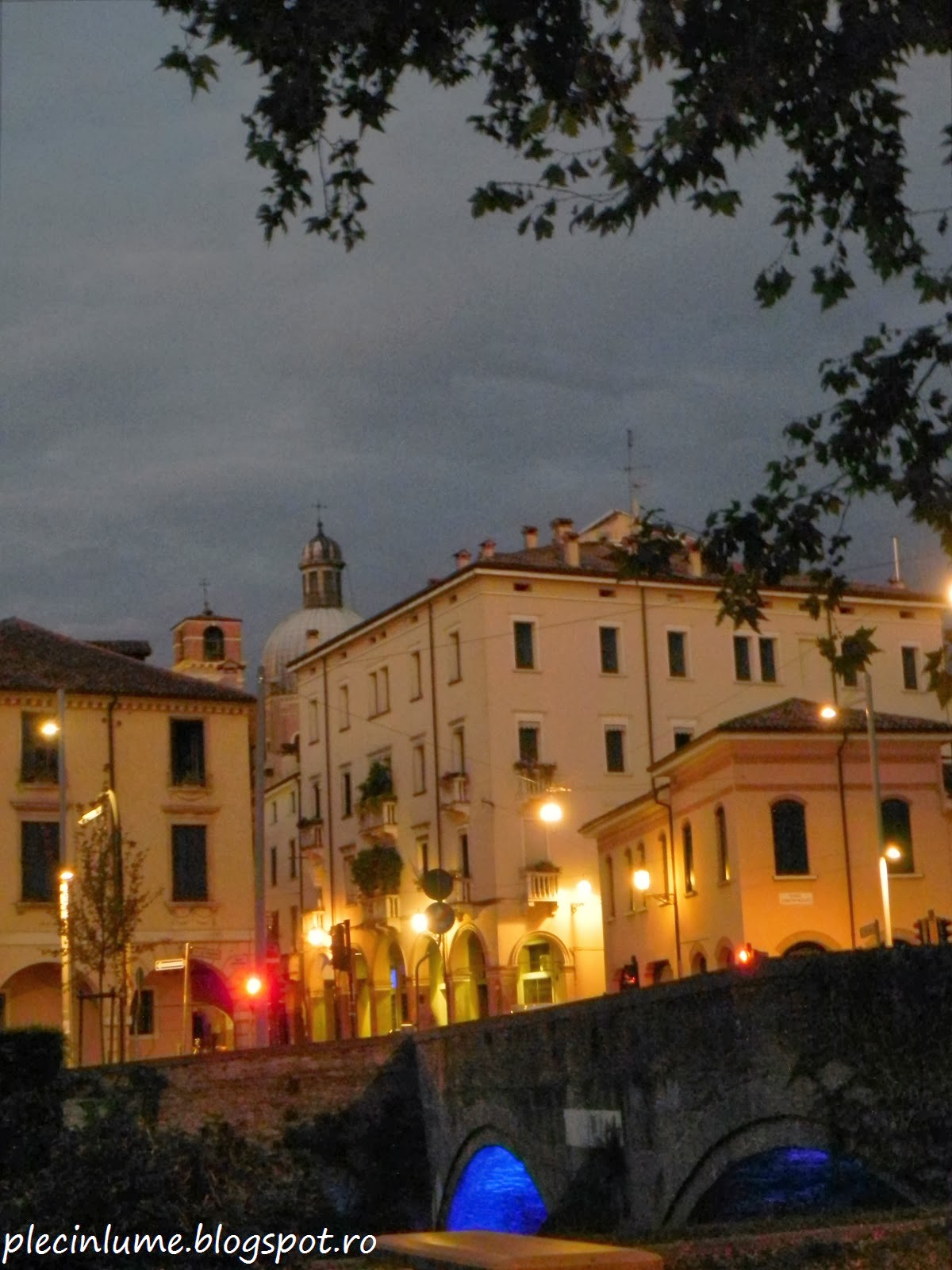 Padova in noapte