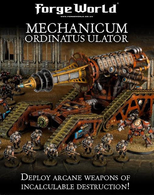 Novedades de Forge World: Mechanicum Ordinatus Ulator