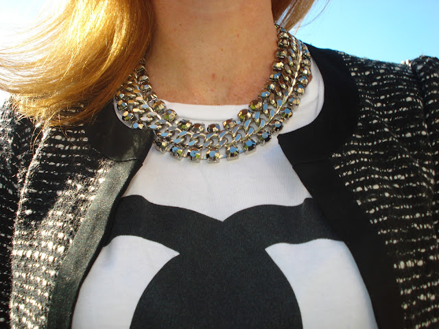 collana h&m, h&m fashion, fashion blogger roma, fashion blog moda, ispiration, chanel jacket