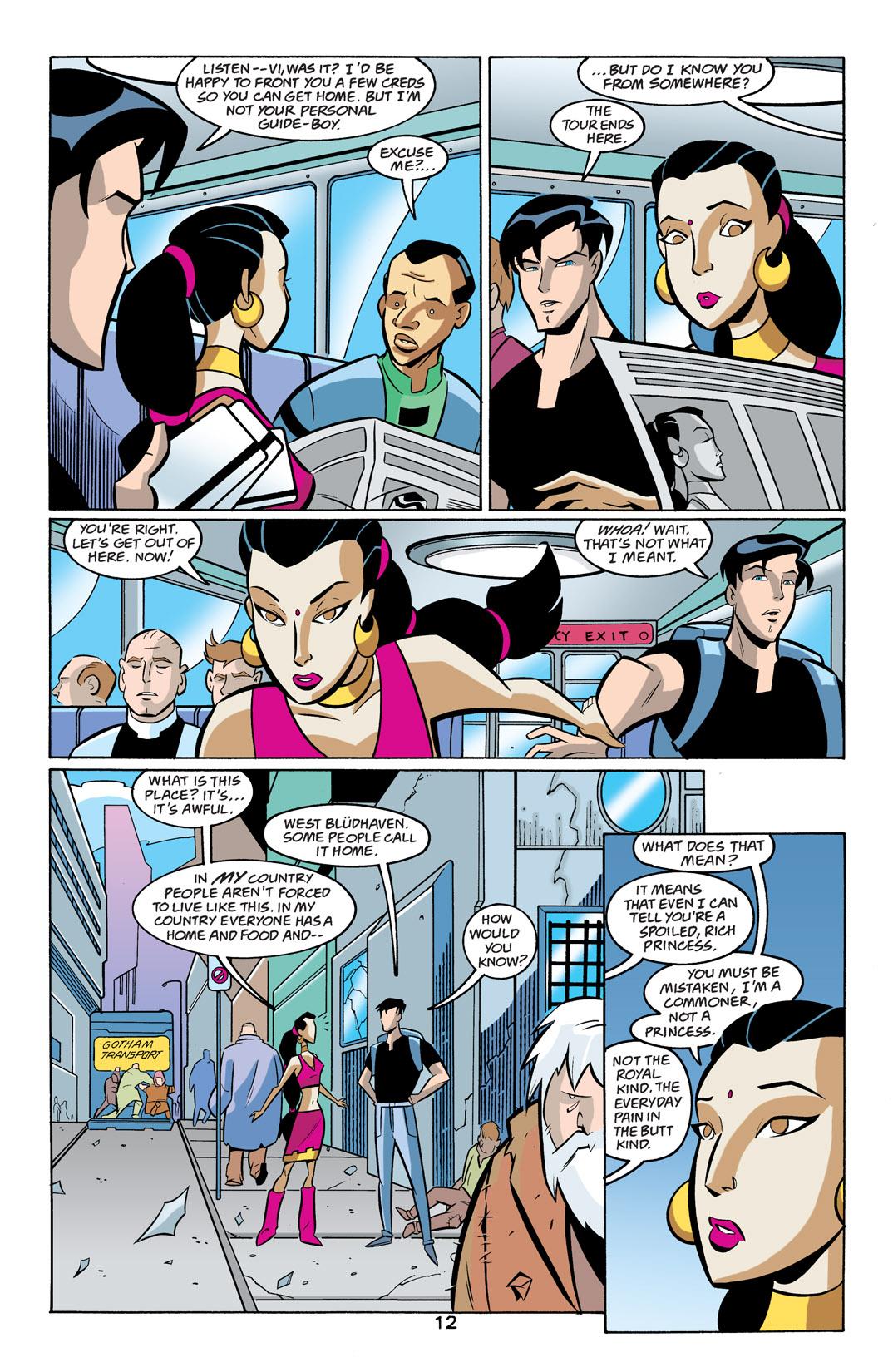 Batman Beyond [II] Issue #19 #19 - English 13