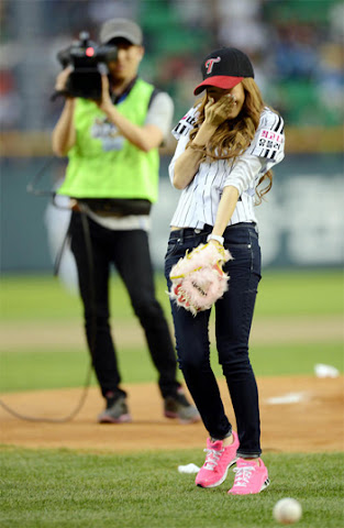 Jessica de Girls' Generation riéndose