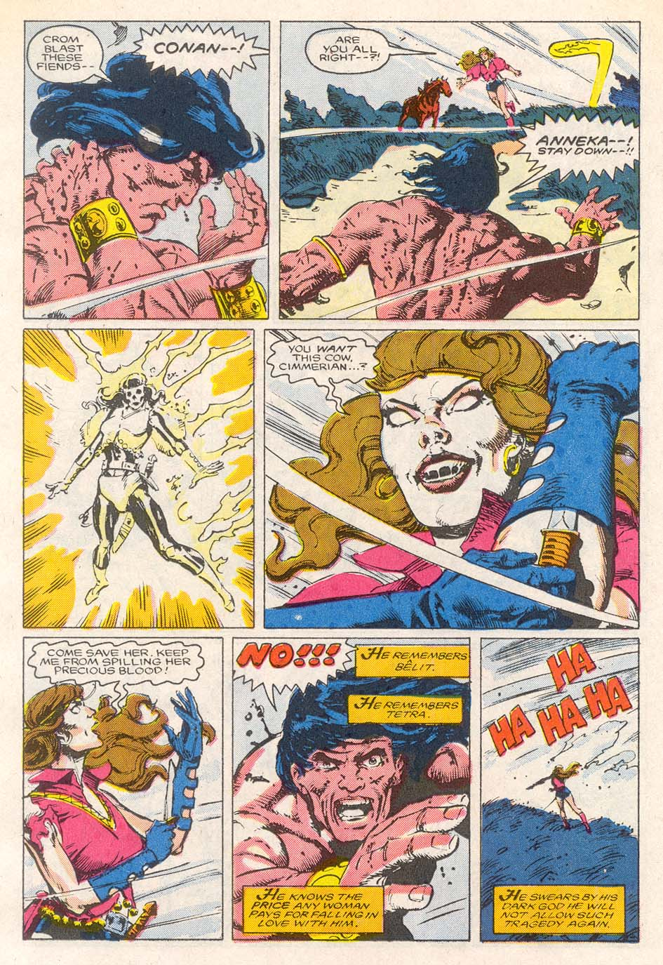 Conan the Barbarian (1970) Issue #193 #205 - English 17