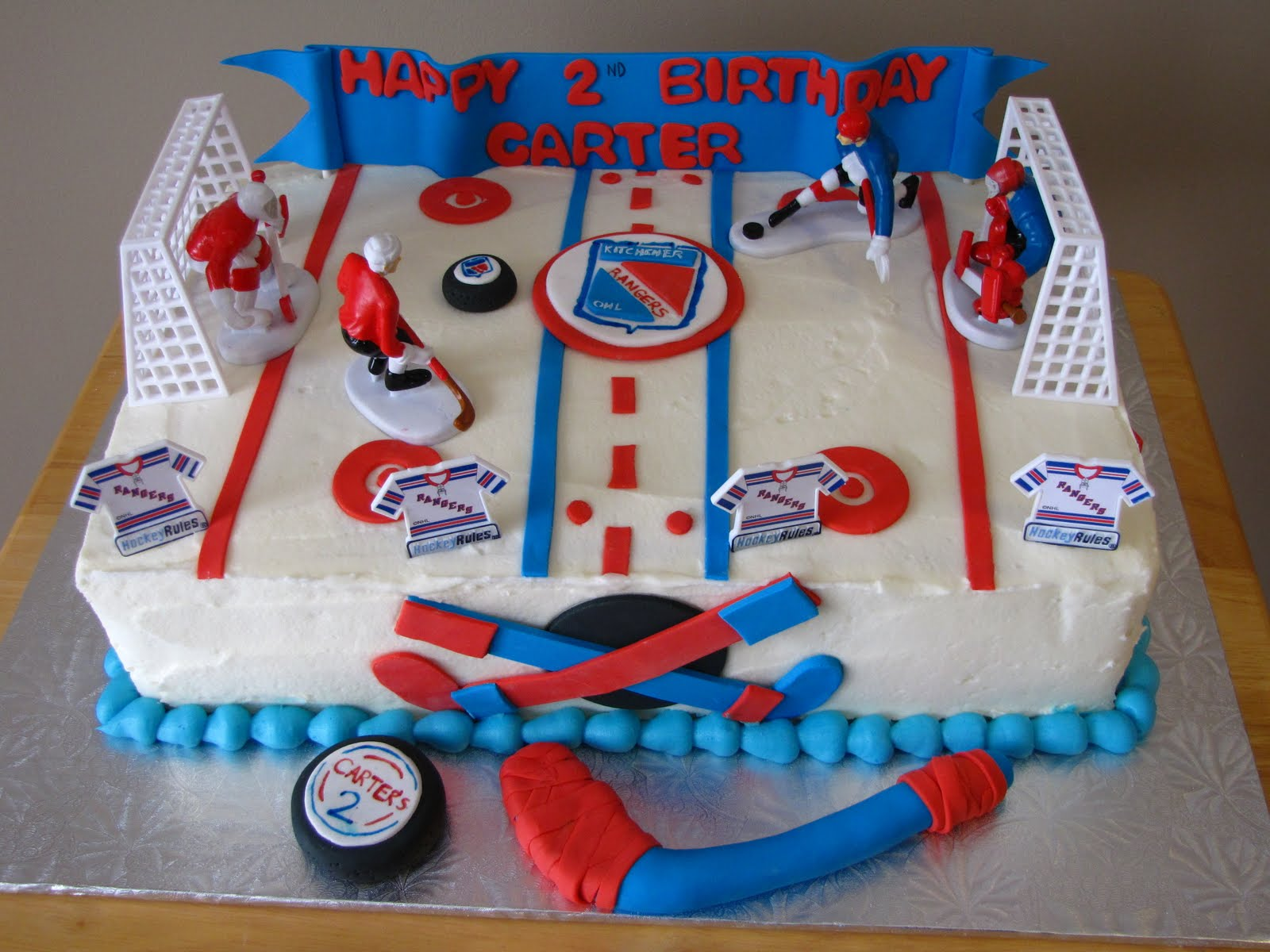 Ice Hockey Cake Decorating Kit : Cake Decorating Hockey Cake Ideas and Designs