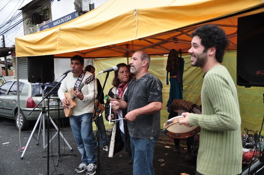 Fernando Mello, Andréa Sant'Anna, Arnaldo Almeida e Pedro Cavalcanti