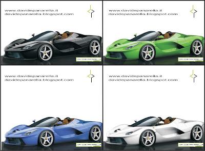 LaFerrari configuratore modelli