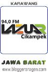 Lazuar FM 94.0 MHz Cikampek