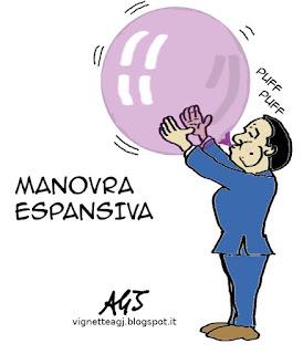 Renzi, legge di stabilità, economia, vignetta satira