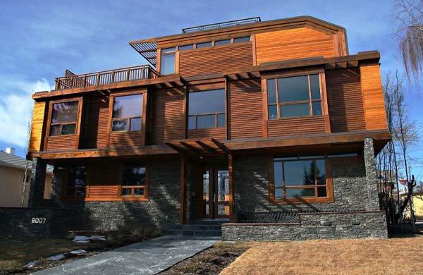 Ecoles system for Casas de madera canadienses