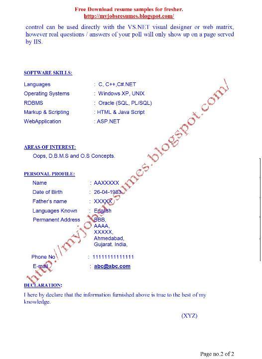 fresh jobs and free resume samples for jobs  resume sample