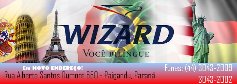 Wizard - Você Bilíngue (Paiçandu) | Fone: 3043-2009
