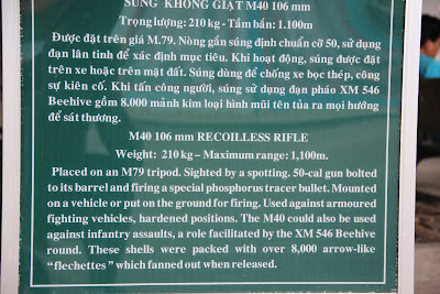 Features RCL M40 rifle