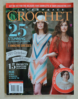 Front cover of Interweave Crochet Magazine Summer 2015 issue