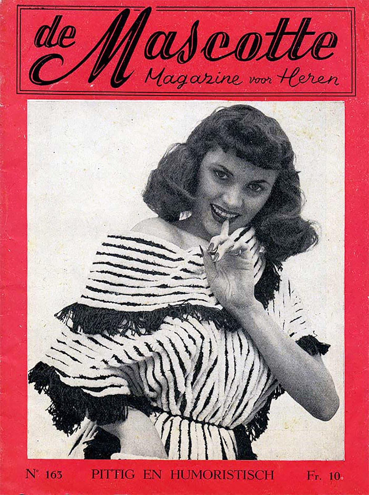de mascotte,                 magazine van heren