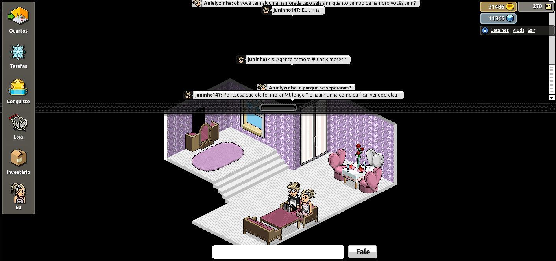 Tudo sobre habbos: Conversando com um hapixel (Juninho147)