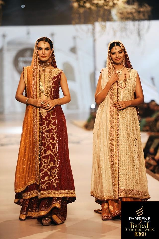 A glimpse of pantene bridal couture week 2014 pcbw 2014 for Couture meaning in urdu
