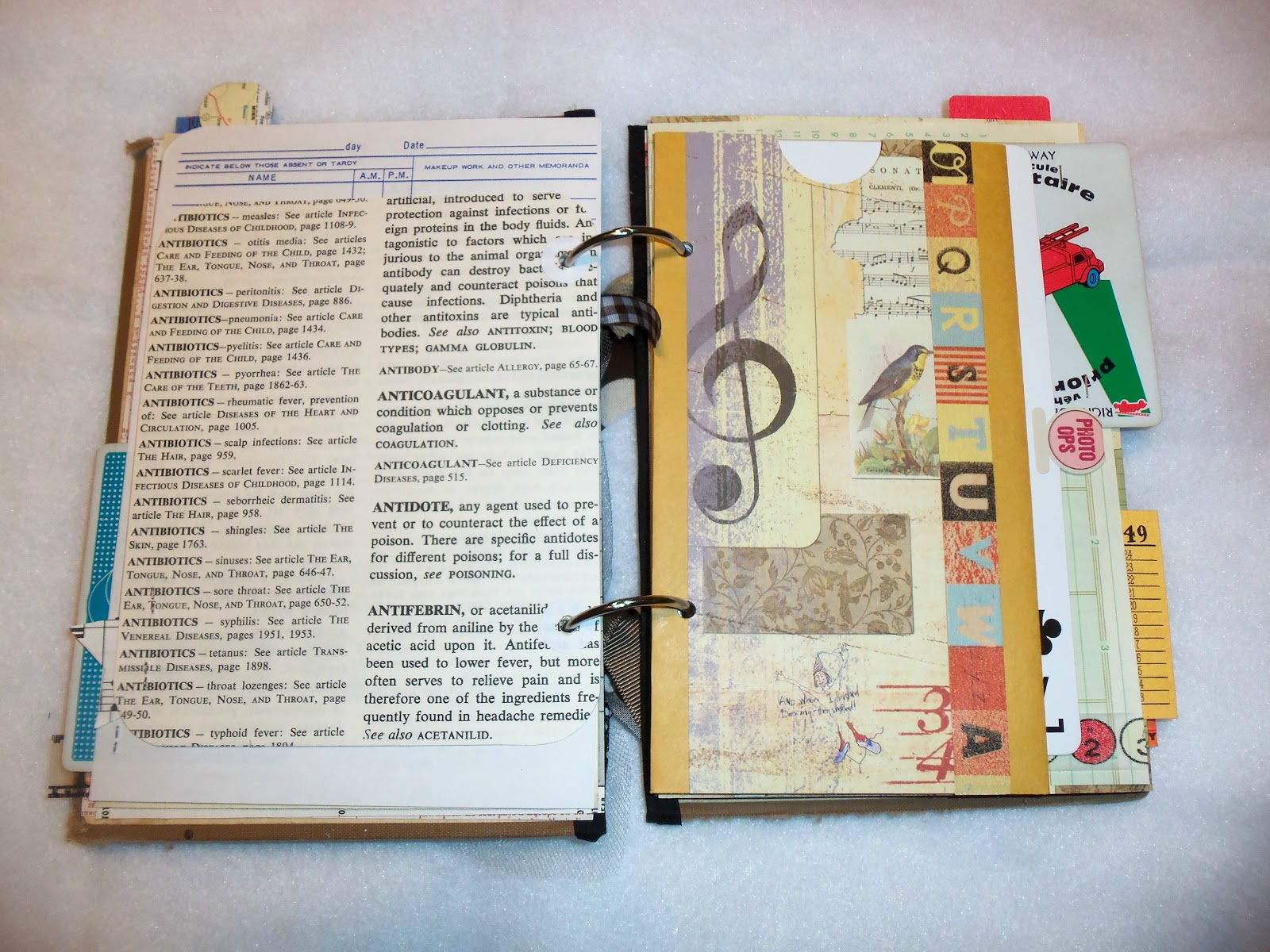 Best friend scrapbook ideas - Vintage Scrapbook Cover Ideas Pages In Her Album Every