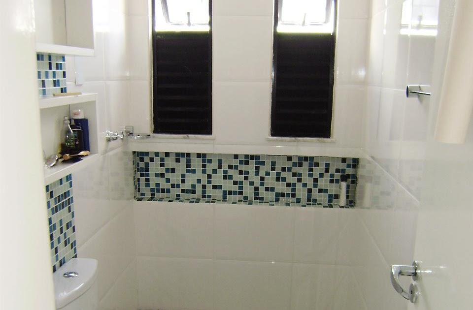 Gabinete Para Banheiro Nicho banheiro como fazer -> Nicho Banheiro Como Fazer