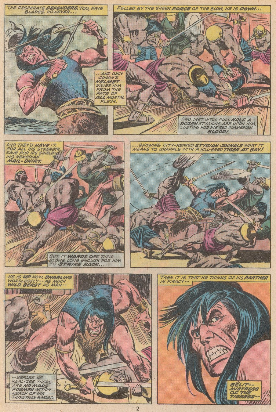 Conan the Barbarian (1970) Issue #59 #71 - English 3