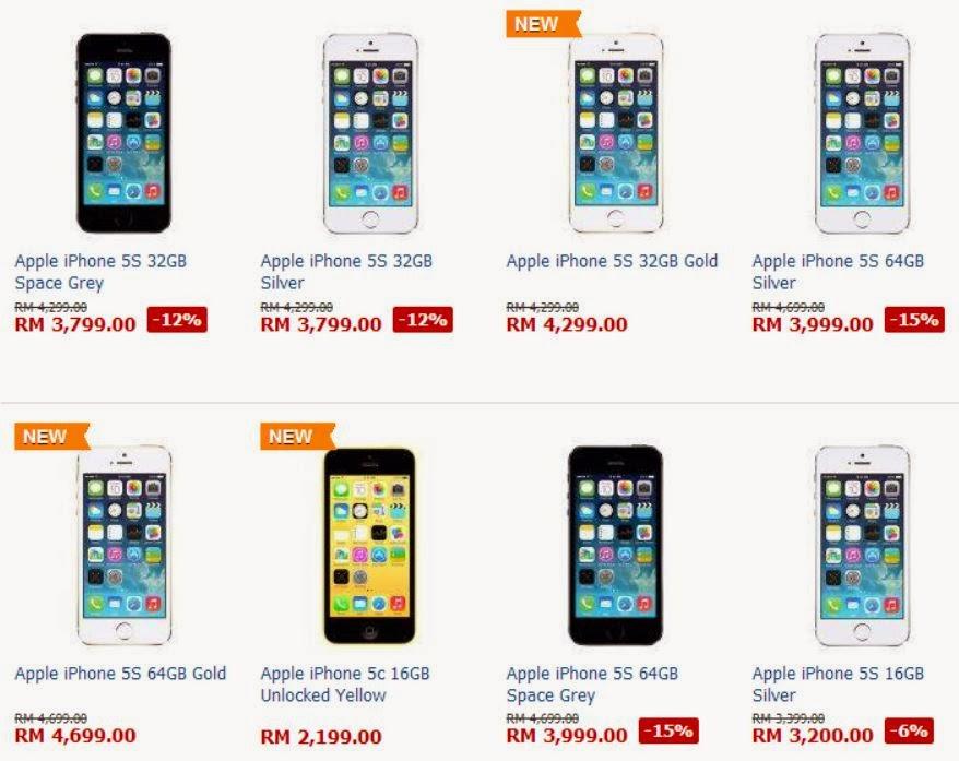 Harga Iphone 5 Sekarang Harga Iphone 5 di Malaysia