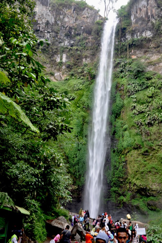 Wana Wisata Air Terjun Coban Rondo terletak di desa Pandesari