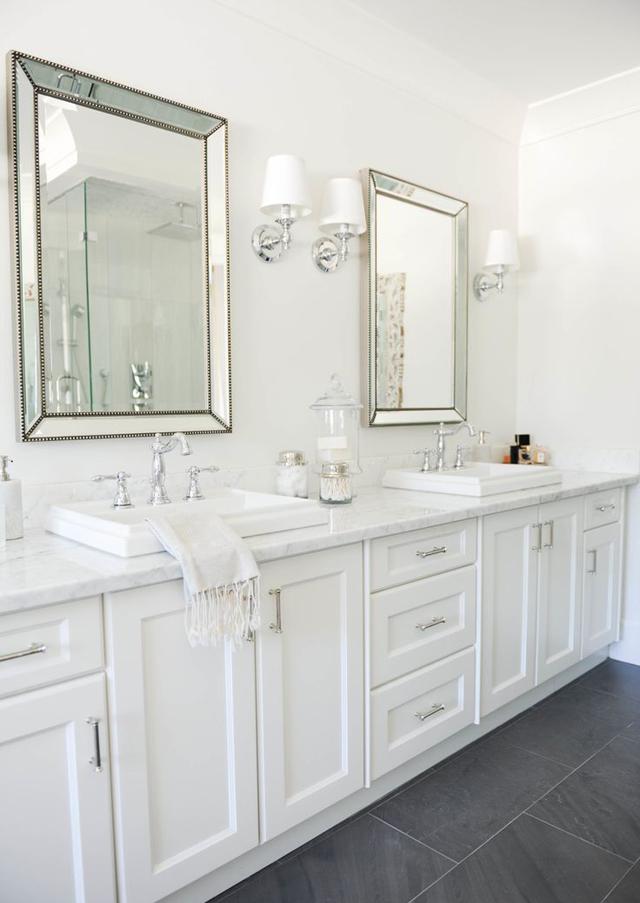 encimeras de mármol para baño