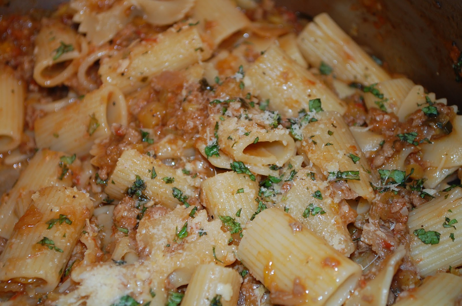 Eating From The Homestead: Lamb Bolognese