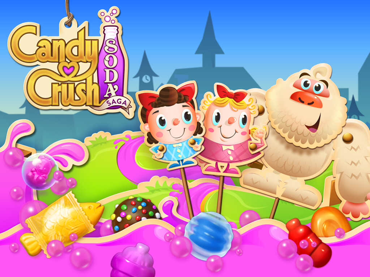 Candy Crush Soda Saga Free App Game By King.com Limited
