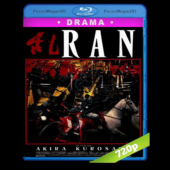 Ran (1985) BrRip 720p Dual Castellano/Inglés AC3+subs
