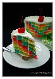 CHECKERED CAKE